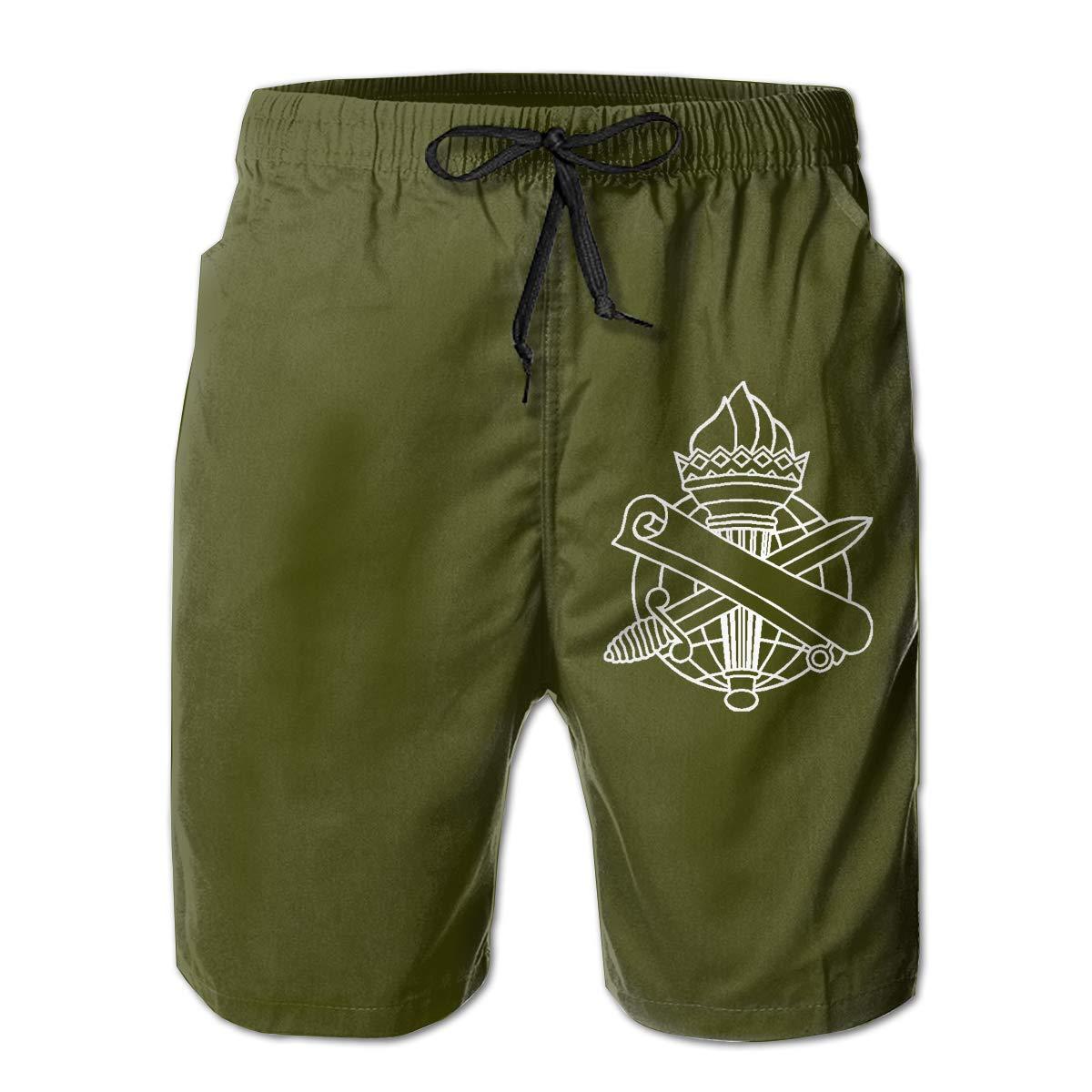 USA Civil Affairs Corps Mens Board Shorts Swim Trunks Beachwear Hiker Trunks