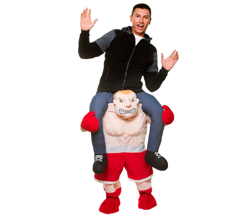 Carry Me® Boxer Adulto Costume (Taglia unica)
