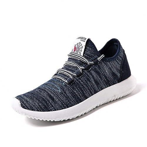 Zapatillas Hombre Mujer Calzados Running Deportivo Correr Sneakers Gym Invierno Zapatos Verde Negro Azul Rojo 39-44: Amazon.es: Zapatos y complementos