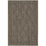 Safavieh Palm Beach Collection PAB351D Silver Sisal & Jute Area Rug (2' x 3')