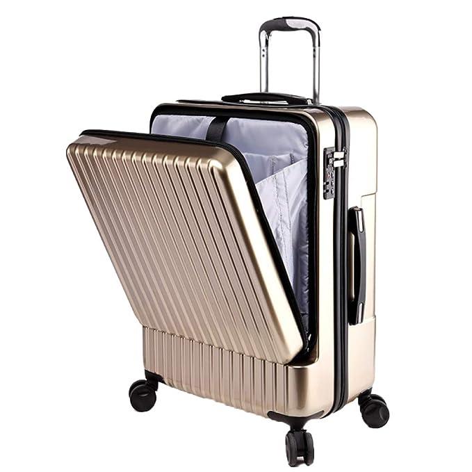Candado TSA Trolley,Maleta De 4 Ruedas,Maleta Cabina Asa Retráctil Maletas Y Bolsas De Viaje: Amazon.es: Ropa y accesorios