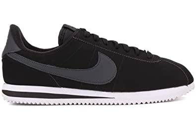 Nike Men's Cortez Basic Nbk,Cool Grey/White/Metallic Silver,9 D