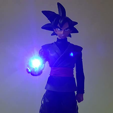Led Lamps Dragon Ball Black Goku Zamasu Led Light Dragon Ball Action Figures Anime 150mm Super Saiyan Son Goku Led Lighting Lamp Dbz Led Night Lights