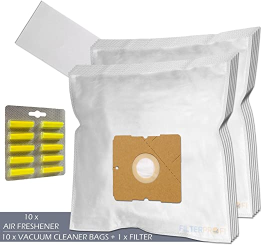 SET - Ambientadores + Filtro + 10 Bolsas de aspiradora Para ...