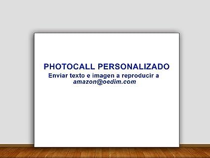 Photocall Personalizado 3x2m | Personaliza tu propio Photocall a tu gusto | Envianos tu Diseño para ...