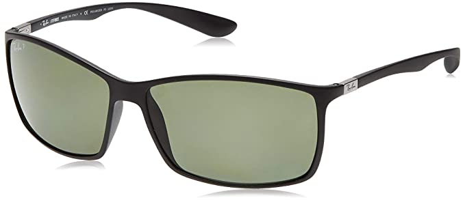RAY-BAN Liteforce Gafas de sol, Matte Black, 61 para Hombre