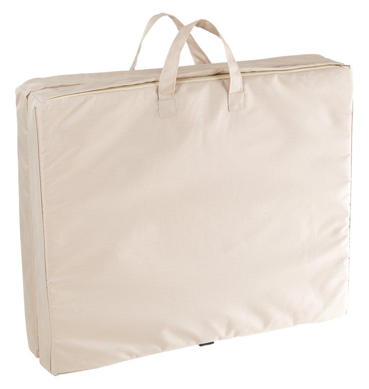 PETMAKER 35 x 22 Portable Travel Folding Pet Bed - Tan