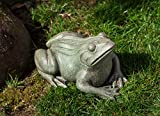 Cheap Campania International A-529-CB Woodland Frog Statue, Copper Bronze Finish