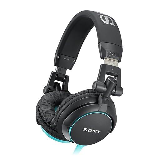 576 opinioni per Sony MDR-V55 Cuffie Chiuso DJ, 105 dB, 40 Ω, Nero/Blu