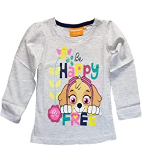 Kleidung-Set Mädchen Paw Patrol gefüttert Nickelodeon T-Shirt  Pulli Leggings