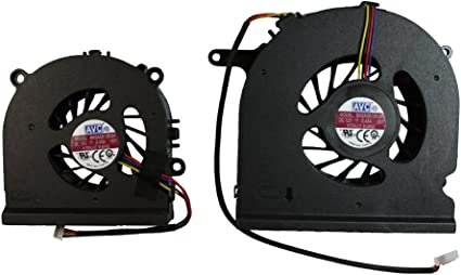 Power4Laptops Ventilador para Ordenadores PC (Par) Compatible con ...
