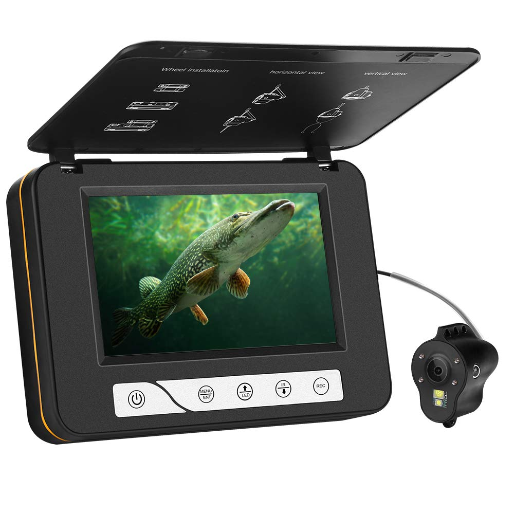 Eyoyo 5インチモニター 魚探 15M 水中 魚探 カメラ 5インチモニター 8GBカード同梱 釣り 魚群探知 録画 写真 水温水深表示 130度広角レンズ 赤外線ライト4灯+白色ライト2灯 8800mAh充電式バッテリー 8GBカード同梱 B07N2GQ6XM:8c033450 --- tandlakarematspetersson.se