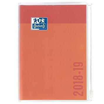 amazon oxford creation zip daily school diary 2017 2018 1日1ページ