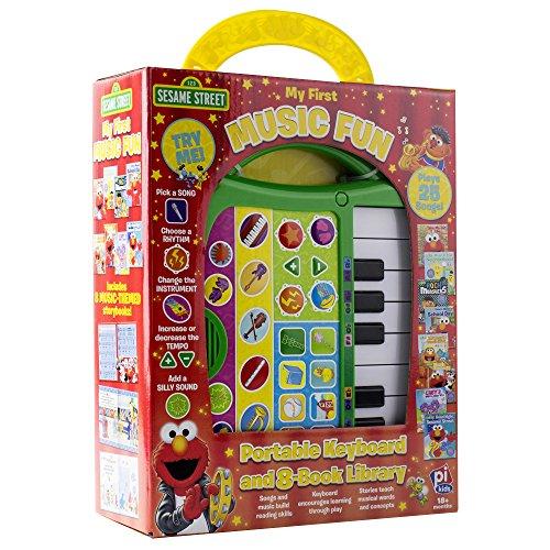 Sesame Street - My First Music Fun - Portable Keyboard and 8-Book Library - PI - Fun Sesame Street