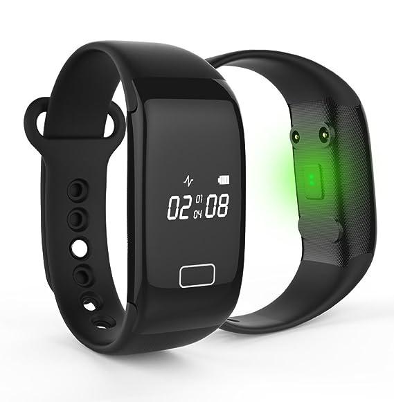 Multi-función Bluetooth reloj inteligente marcapasos amufi teléfono ...