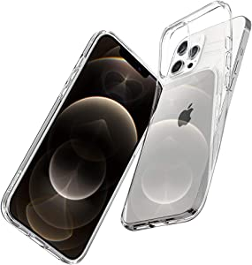 Spigen Liquid Crystal Designed for Apple iPhone 12 Case (2020) / Designed for iPhone 12 Pro Case (2020) - Crystal Clear