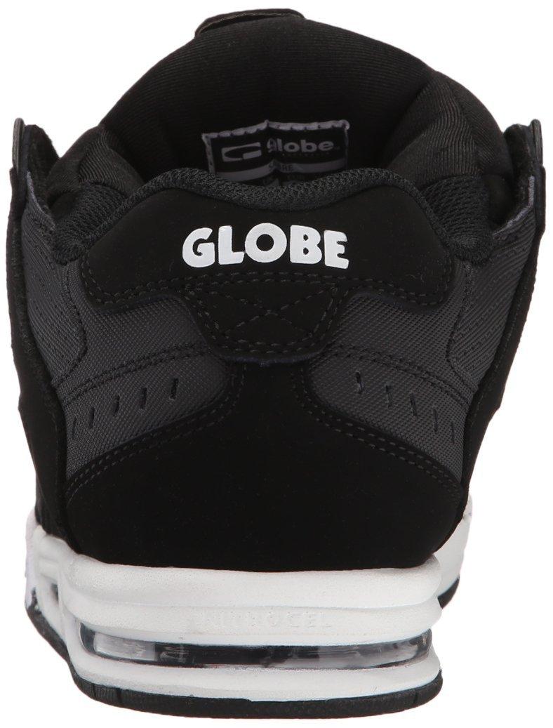 los angeles f649c c174b Globe Globe Globe Skateboard scarpe SABRE nero CARBON bianca ...