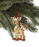 Giraffe Personalized Christmas Tree Ornament