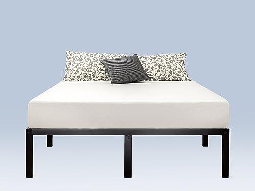 Zinus Yelena 14 Inch Classic Metal Platform Bed