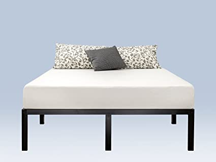 Zinus 14 Inch Classic Metal Platform Bed Frame With Steel Slat Support,  Mattress Foundation,