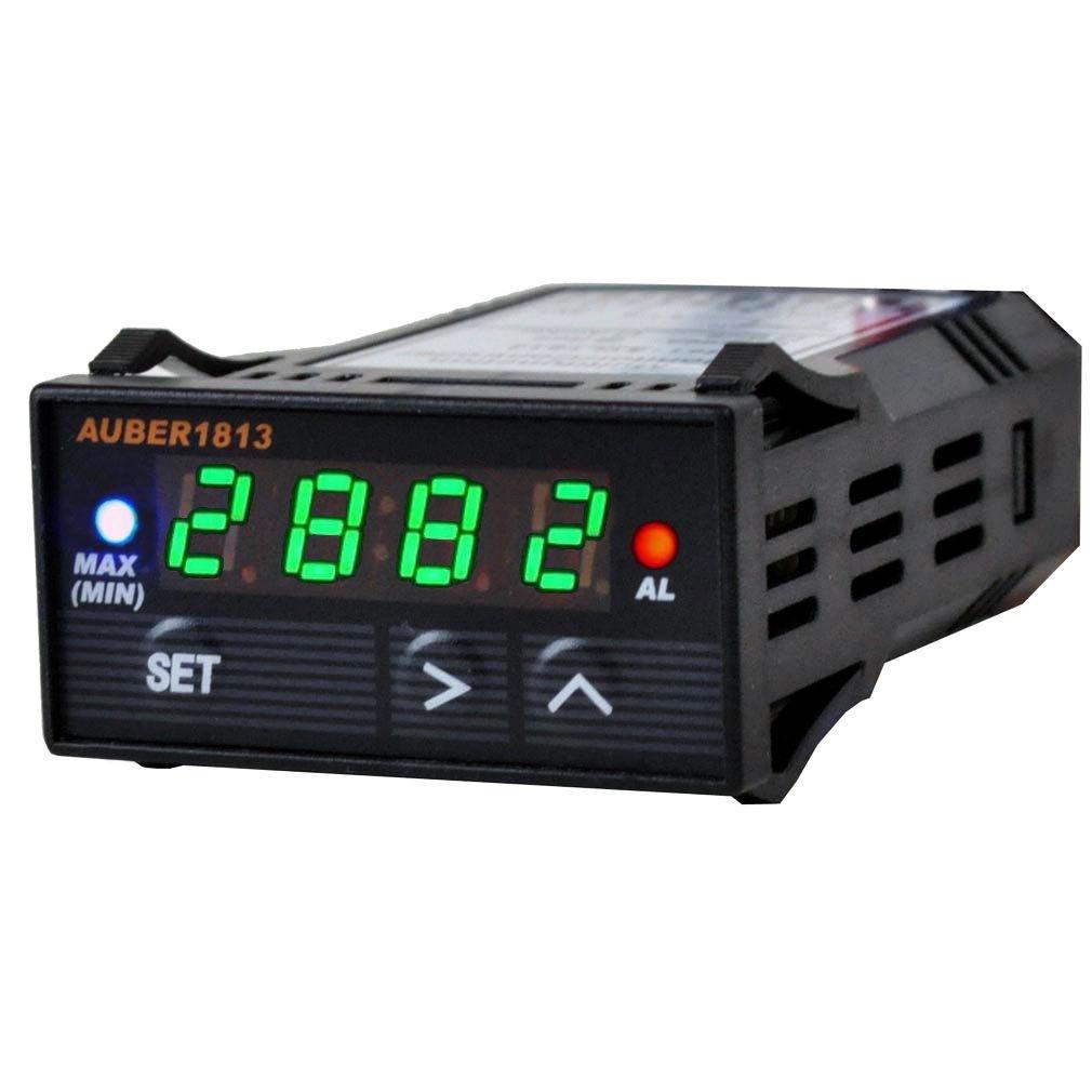 Automobile Multimeter for EGT, Boost, Green, 12V DC Auber Instruments