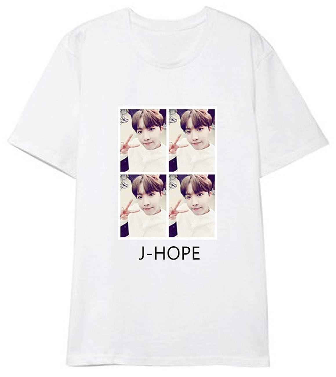 SERAPHY Unisex Kpop Bangtan Boys Shirt BTS Photo T-Shirt