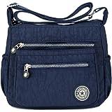 Bolsos de mensajero de nylon ocasionales de múltiples bolsillos cruzados del cuerpo del bolso del viaje del bolso