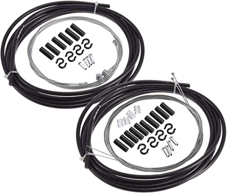 Derailleur Shifting Front /& Rear Braking Brake /& Derailleur Cable Repair Set