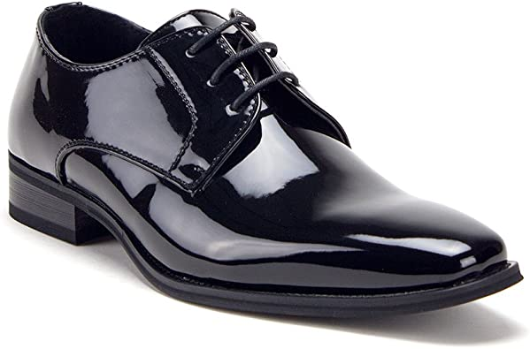 Patent Leather Formal Wear Oxfords Lace