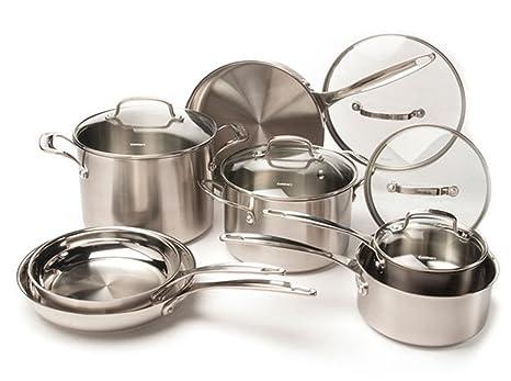 Amazon.com: CUISINART juego de utensilios de cocina de acero ...