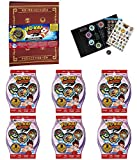 Yo-kai Watch Yo-kai Medallium Collection Book with 6 Yo-Kai Series 2 Blind Bags with 18 Random Medals Bundle