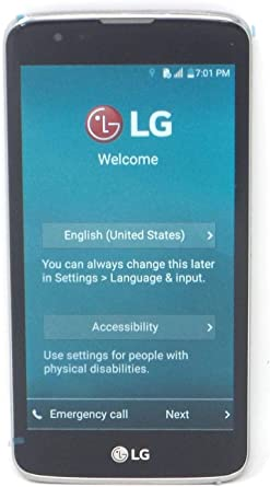LOCKED TO T-Mobile LG K7 4G LTE 5