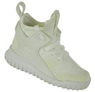 adidas Tubular X PK Infants Baby Originals Trefoil Trainer Sneaker Children's Shoes White