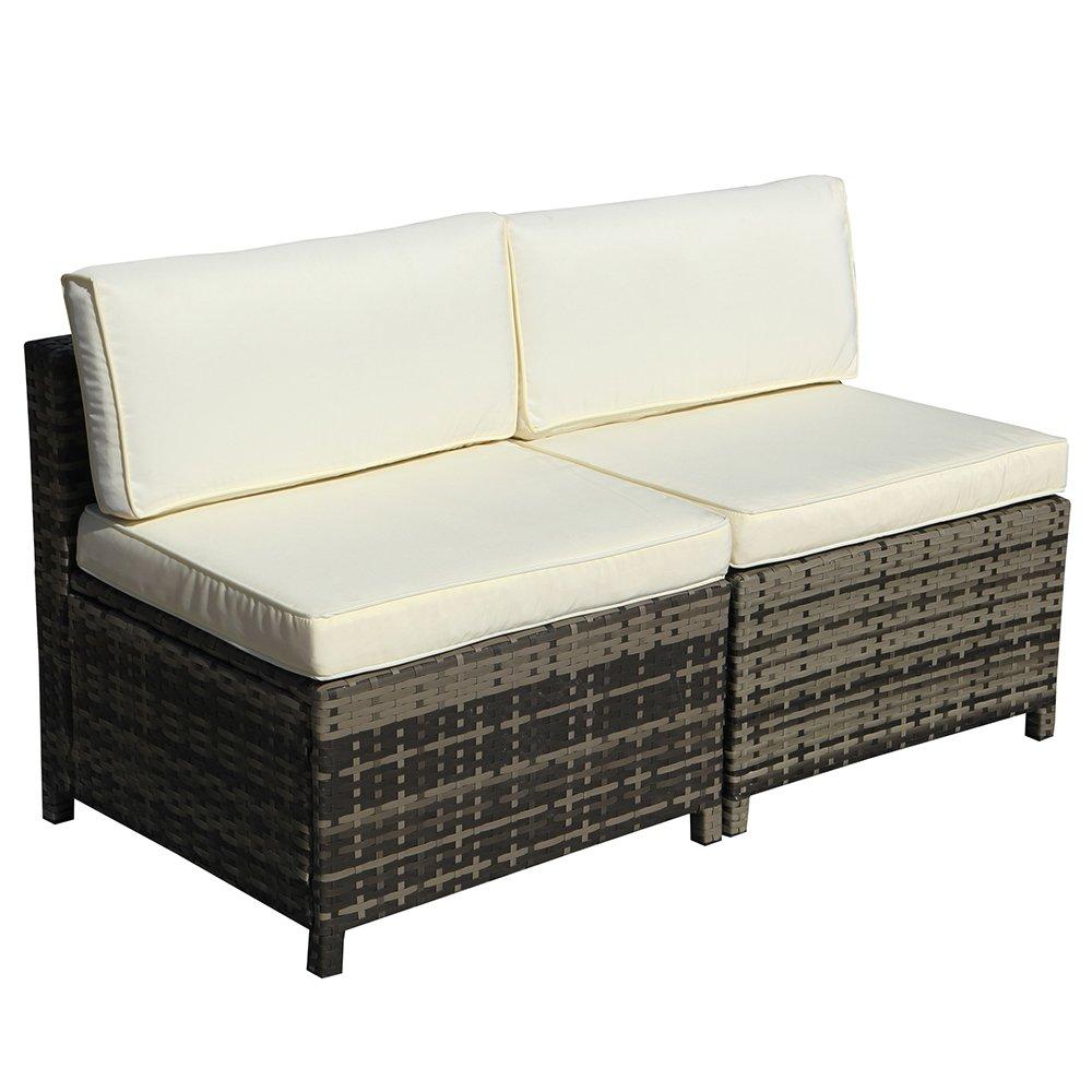 Amazon.com: Juego de muebles de patio al aire libre, juego ...