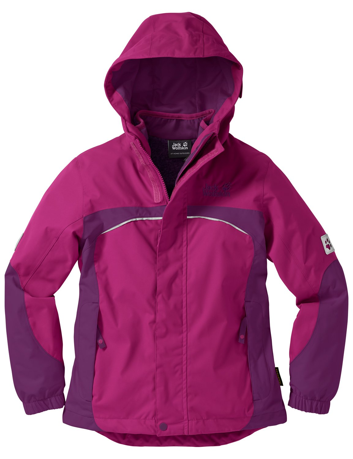 Jack Wolfskin Mädchen 3-in-1 Jacke Girls Topaz Winter Jacket