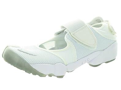 154ac391bc1996 Nike Women s Air Rift White Wolf Grey Running Shoe 10 Women US