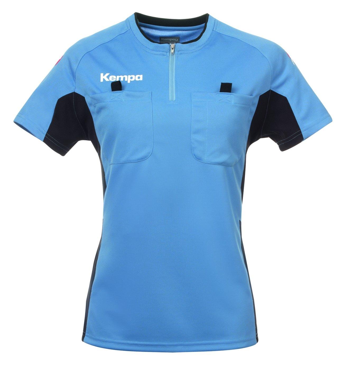 Kempa Referee Shirt Women fair Blue/Black