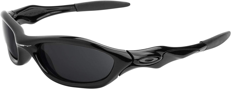 Revant Verres de Rechange pour Oakley Unknown - Compatibles avec les Lunettes de Soleil Oakley Unknown Chromé Noir Mirrorshield - Non Polarisés