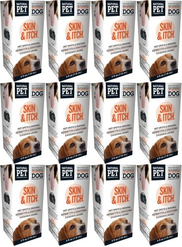 Natural Pet Pharmaceuticals by King Bio Tomlyn Dog Skin Irritations & Itch 48oz (12 x 4oz) by Natural Pet Pharmaceuticals by King Bio