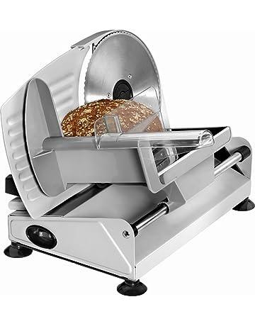 rebanadora Acero Inoxidable Cuchillo para cortar pan Cortafiambres eléctrica – Cortador de salchichas (ajustable cortar