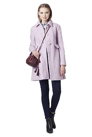 Schnelle Lieferung Shop für authentische elegant und anmutig Topshop Damen Mantel * Einheitsgröße Gr. 36, Lilac: Amazon ...