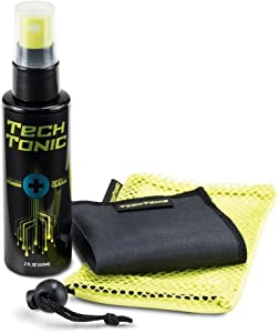 Gadget Guard Multi-Use Screen-Cleaner Spray with Microfiber Cleaning Cloth for Phone, Computer, and Laptop (2 Ounces)