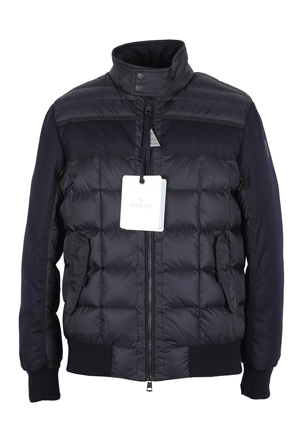 MONCLER Cl Blue Aramis Quilted Down Jacket Coat Size 1 / S / 46/36 U.S.: Amazon.es: Ropa y accesorios