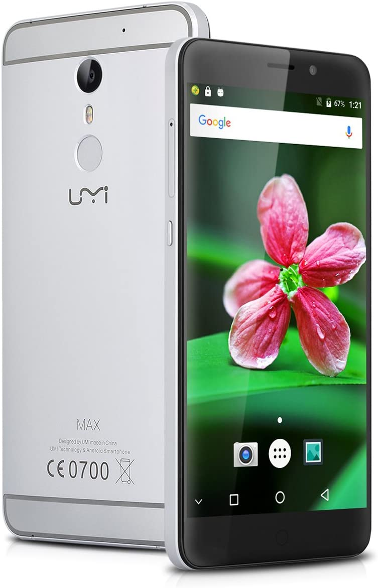 Umidigi Max - Smartphone Libre 4G Lte Android 6 (Pantalla 5.5 ...