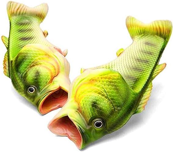 Amazon.com   Unisex Fish Slippers, bass Sandals, Animal Slippers Animal Fish Slippers,   Slippers