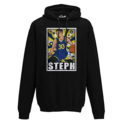 KiarenzaFD Sudadera Capucha Baloncesto Vintage Parodia Stephen All Star Curry 1 Hombre, XKFCA01775_XXL, Jet