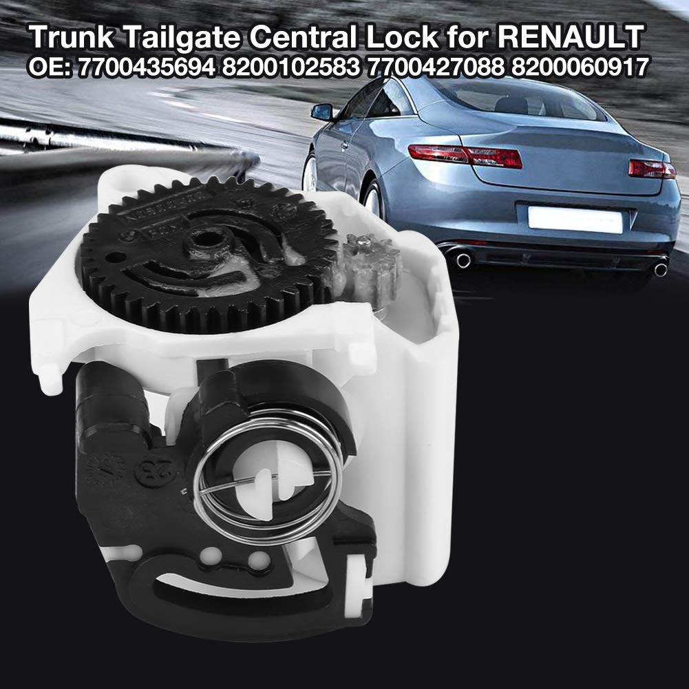 Amazon.com: Trunk Tailgate Central Lock Motor, Rear Lid Tailgate Central Lock Motor Actuator for RENAULT CLIO MEGANE TWINGO: Automotive