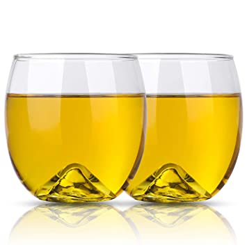 Set Di 2 Bicchieri Tazze Da 400 Ml Bicchieri Da Acqua Bicchieri Di