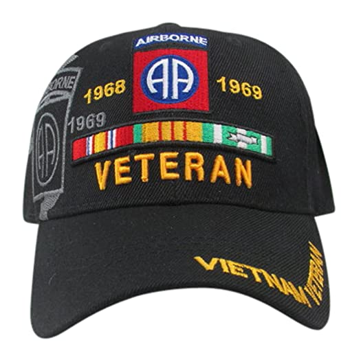 1e561645162 U.S. Warriors US Army 82nd Airborne Vietnam Veteran Baseball Cap ...