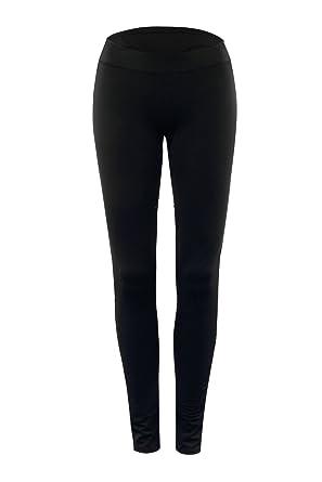 Pantalones Deporte Mujer Leggings Negro Elásticos Cómodos para ...